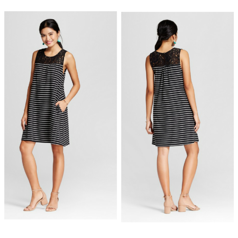 e2420b81d648 PSA: This Merona swing dress is only $18 at Target right now when you use  Cartwheel and it is so comfortable (plus it has pockets!)