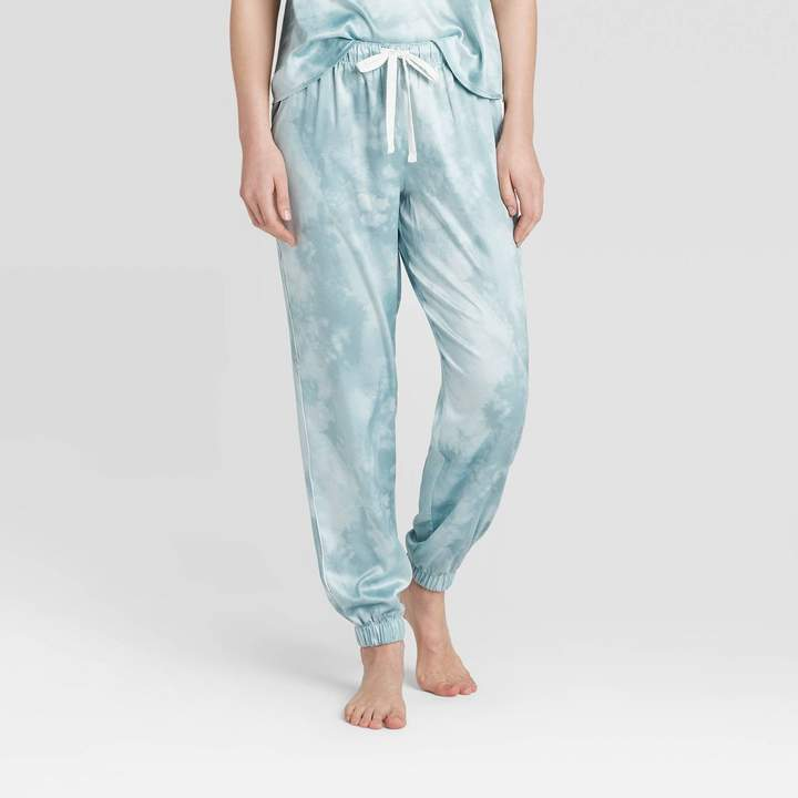 womens-tie-dye-print-satin-jogger-pajama-pants-stars-abovetm-mint