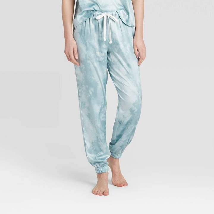 womens-tie-dye-print-satin-jogger-pajama-pants-stars-abovetm-mint